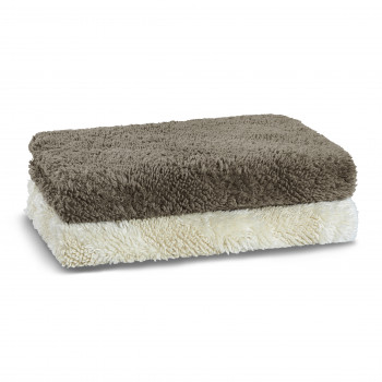Diagonal Tufted Bath Rug
